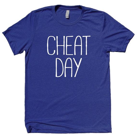149e8d50aa548 Cheat Day shirt śmieszne dieta dieta pracy na siłowni biegacz   Etsy