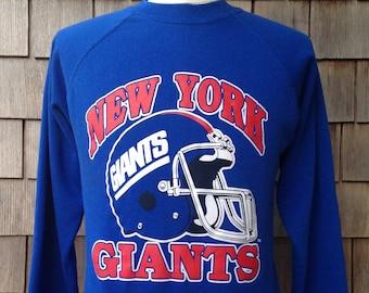 9082099a7 80s vintage New York Giants sweatshirt   Trench   Medium