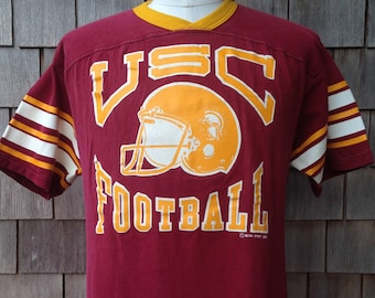 44add540922 ... 50% off 80s vintage usc trojans jersey shirt large university of southern  california russell athletic