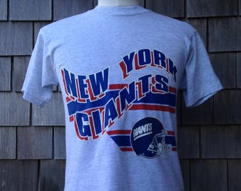 90s vintage New York Giants T shirt - Screen Stars - Medium - soft