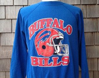80s vintage Buffalo Bills sweatshirt - Large