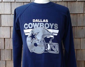 80s vintage Dallas Cowboys sweatshirt by Trench - Medium