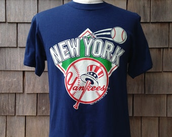 80s vintage New York Yankees T shirt by Trench - Medium