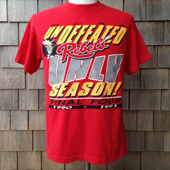90s Vintage UNLV Rebels Undefeated Season Final Four