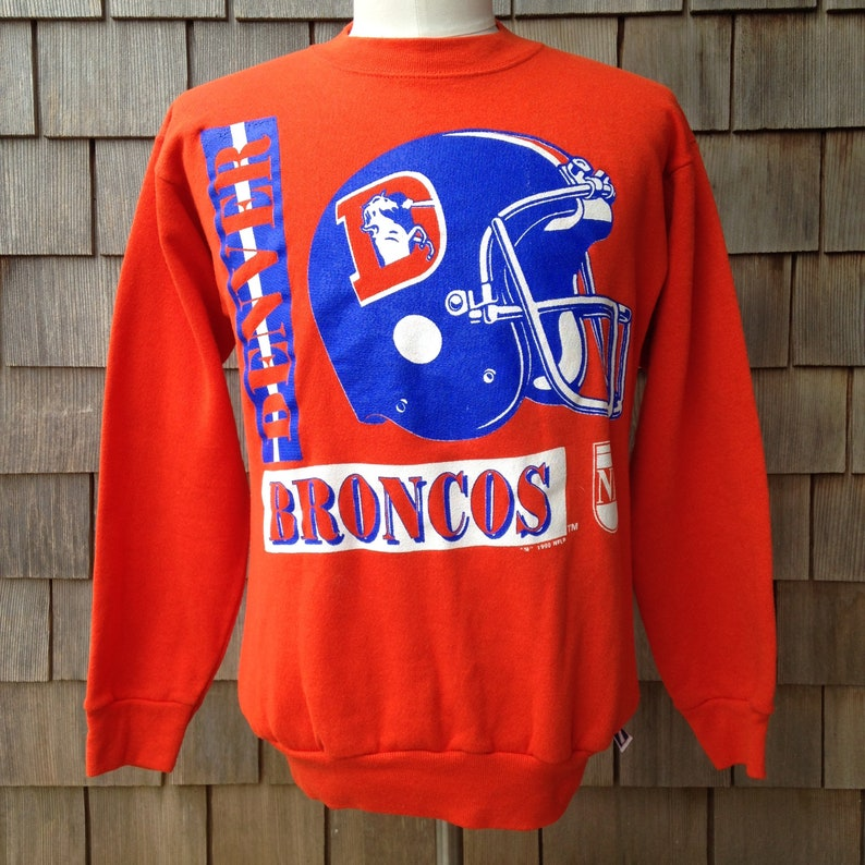 reputable site b2c7d 76340 90s vintage Denver Broncos sweatshirt - Small / Medium - Logo 7