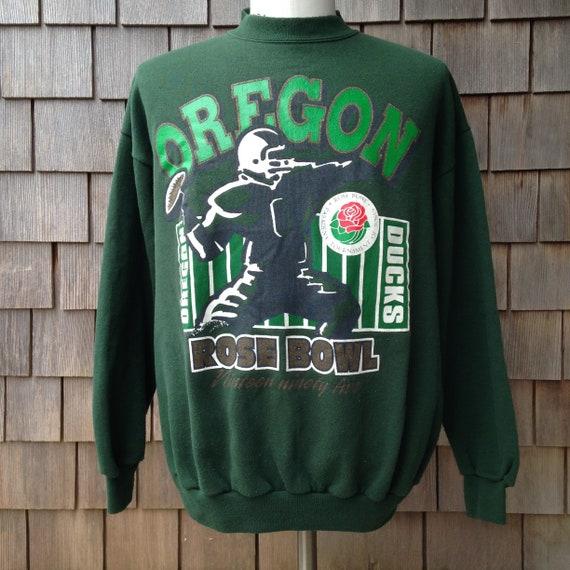 check out 22674 16b29 90s vintage Oregon Ducks sweatshirt - 1995 Rose Bowl - Large - University  football