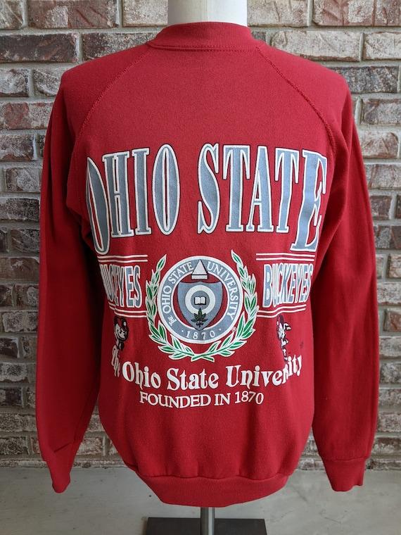 80s vintage Ohio State Buckeyes sweatshirt / Mediu