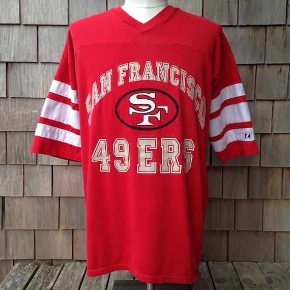 80s 90s vintage San Francisco 49ers jersey shirt Logo 7  013df2a25