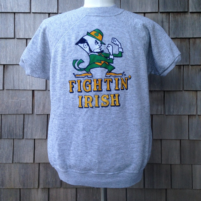 75606ca6e1102 80s vintage Notre Dame Fighting Irish sweatshirt by Champion