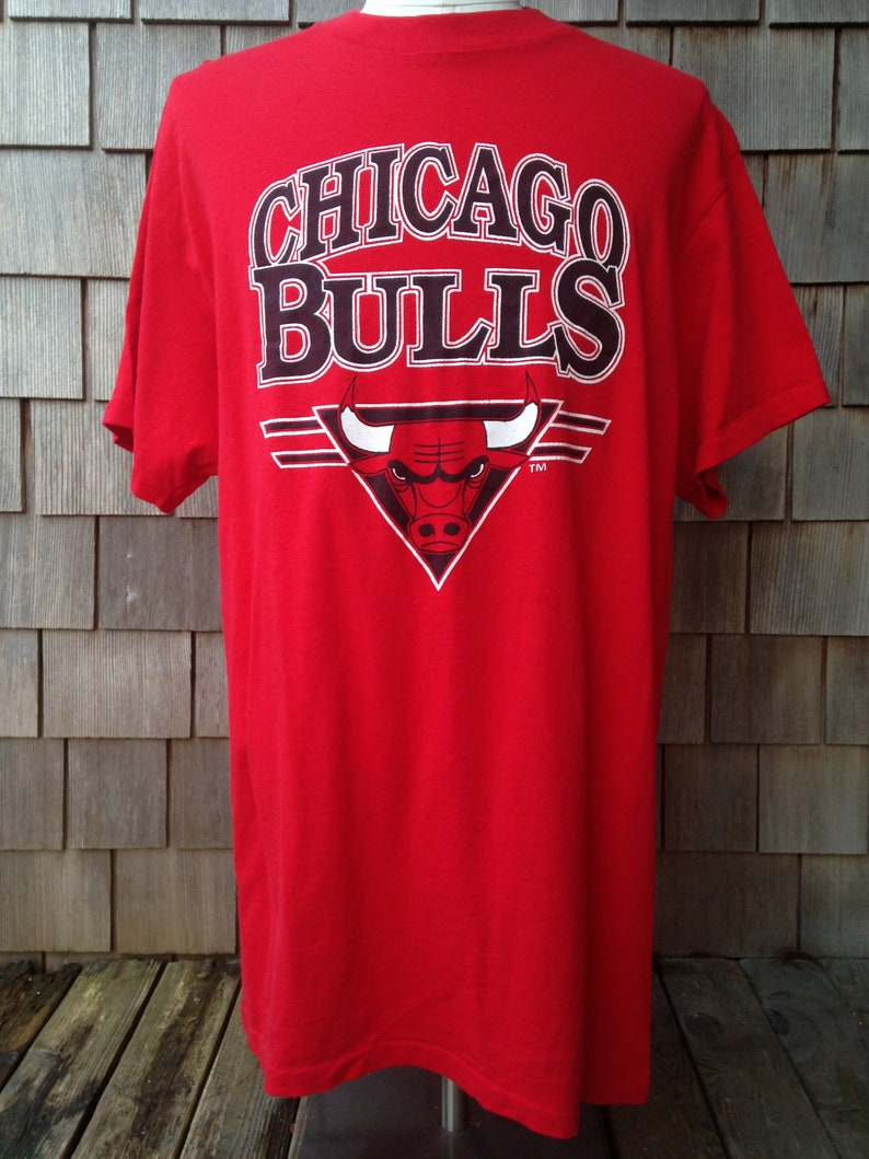 premium selection eaa1a 06d0c 80s vintage Chicago Bulls T shirt / XL