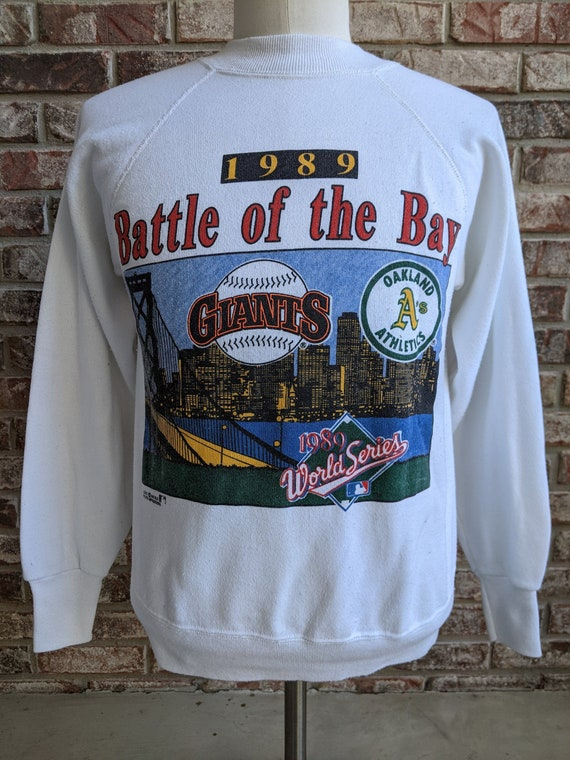 "vintage 1989 World Series ""Battle of the Bay"" swea"