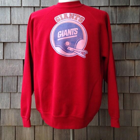 a4005ca5e 80s vintage New York Giants sweatshirt XL iron on