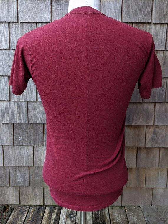 80s vintage Harvard University Crimson T shirt / … - image 5