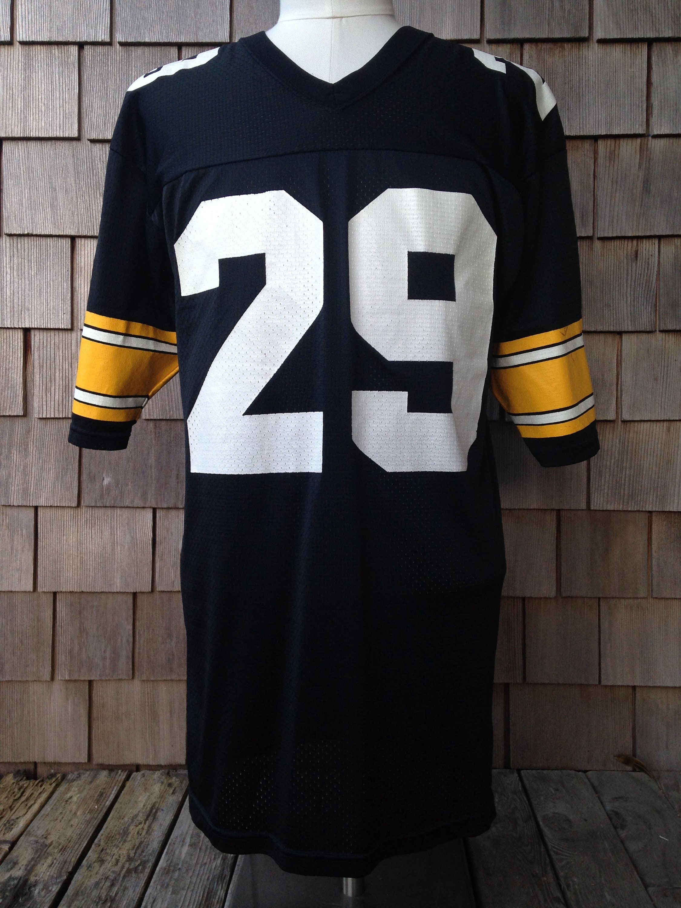 90s vintage Pittsburgh Steelers 29 jersey   Barry Foster    9ac150a03