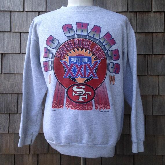 75c45c94f 90s vintage San Francisco 49ers Super Bowl XXIX NFC Champs