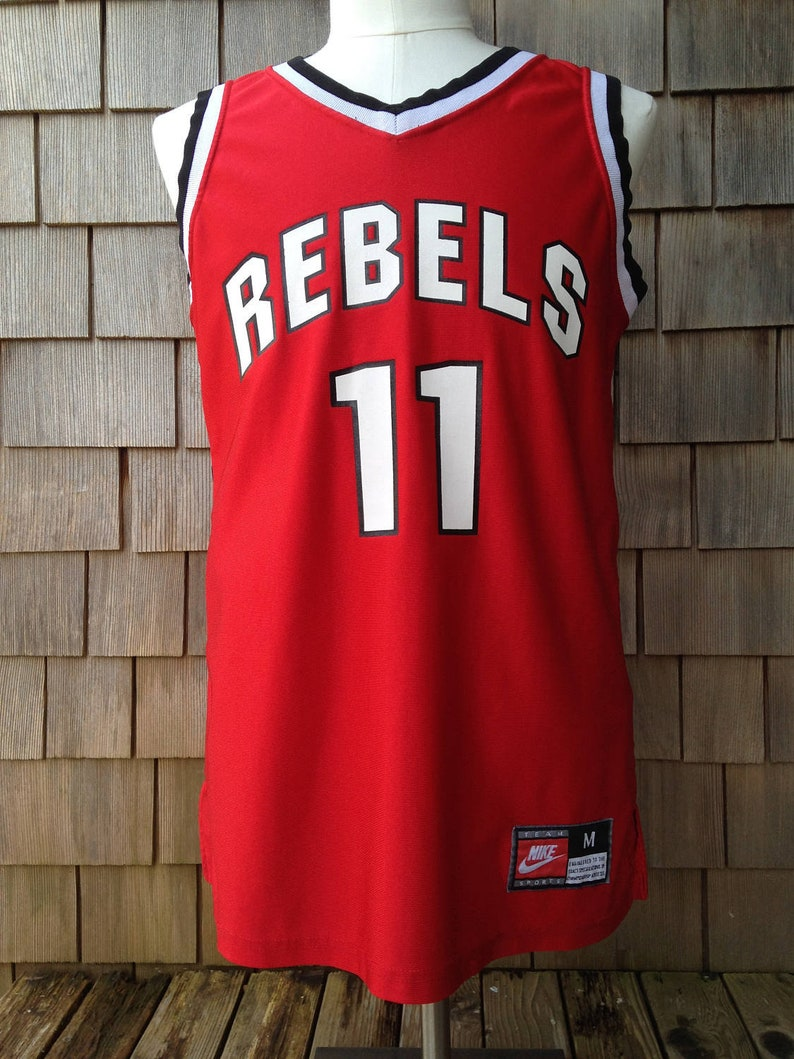 separation shoes a5f90 98dc1 Vintage 90s Nike UNLV Runnin Rebels Basketball Jersey #11 - Small -  University Nevada Las Vegas