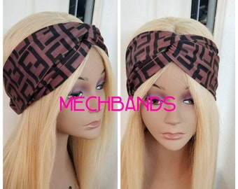 Fendi Inspired Headband (criss cross)