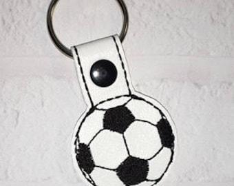 Soccer Key Chain - Sports Key Chain - Key Chain - Team Gift - Tennis Bag Tag - Basketball Bag Tag - Soccer Bag Tag - Sports Gift-MVP