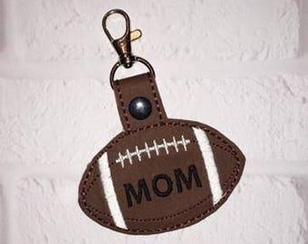 Football Key chain - Sports Bag Tag - Gym Bag Keychain - Golf Bag Tag - Tennis Bag Tag - Basketball Bag Tag - Soccer Bag Tag - Team Gift