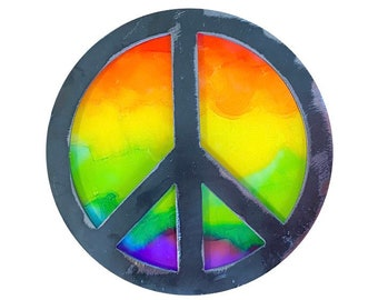 Peace Sign Trivets/Wall Decor-Free Shipping