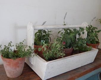 GARDEN TRAY/ garden gathering tray/ farmhouse tray/ vintage tray/farmhouse style/ vintage style