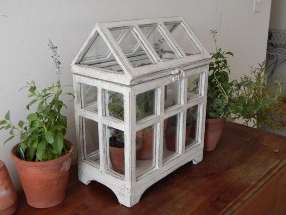Terrarium Bois terrarium / vintage terrarium style ferme style terrarium / / bois