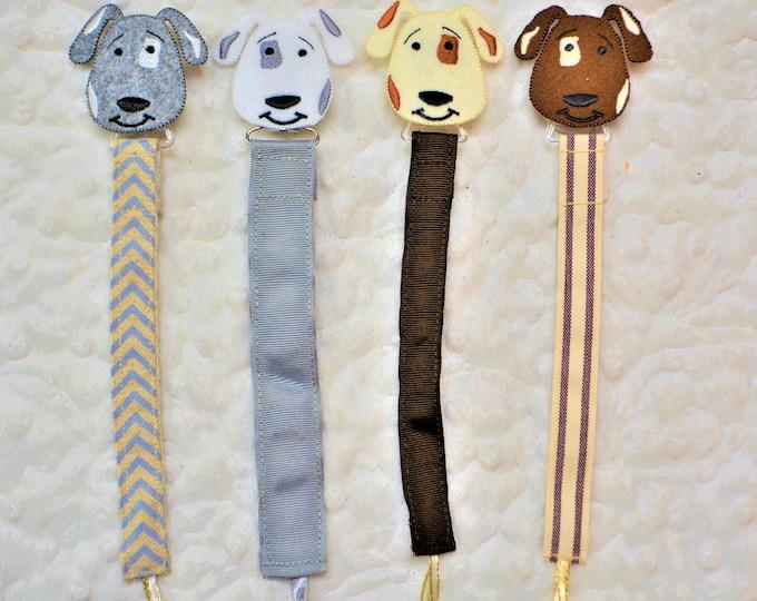 Dog Binky Clip, Paci Clip -- Free Shipping!