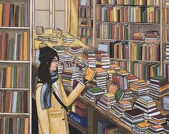 Lost in a Bookstore