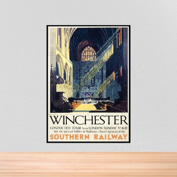 A3 NEWQUAY A4 A2 Home Wall Art Print Vintage Retro Travel Poster A1