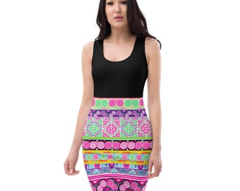 Hmong Dress - Stretchy - Hmong Creations - Ships in 7 Weeks- Darla