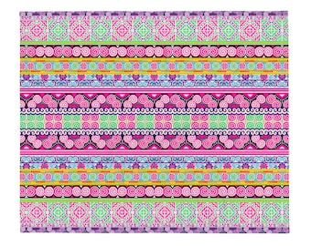 Hmong Blanket - Soft Thin Throw Blanket - Ships in 7 weeks - baby girl 50x60 inch