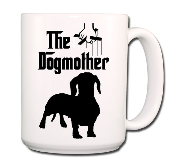 Dachshund The Dogmother Extra Large 15 oz Coffee Mug