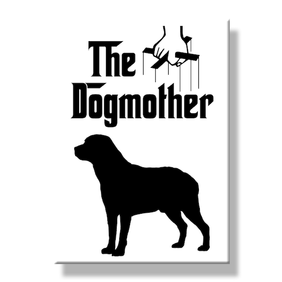 Labrador Retriever The Dogmother Fridge Magnet