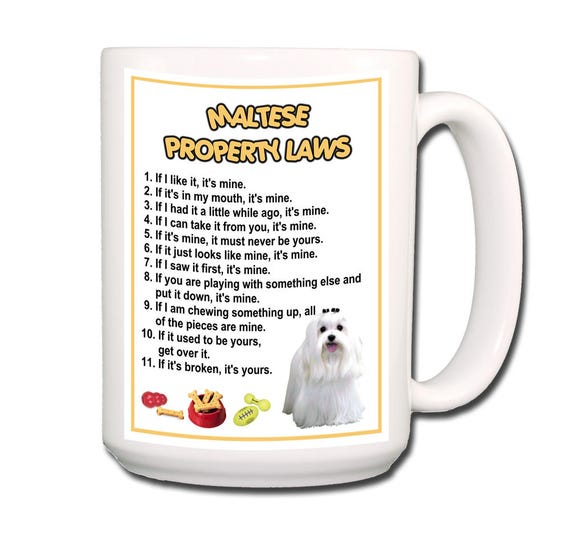 Maltese Property Laws Extra Large 15 oz Coffee Mug