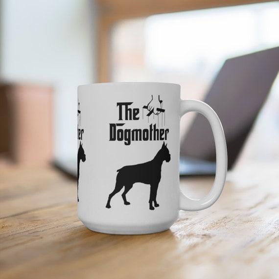 Boxer The Dogmother Extra Large 15oz Coffee Mug Dog Mother