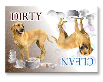 Danish Broholmer Clean Dirty Dishwasher Magnet