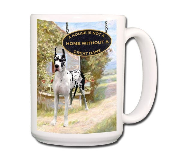 Great Dane a House is Not a Home 15 oz Extra Large Coffee Mug No 2