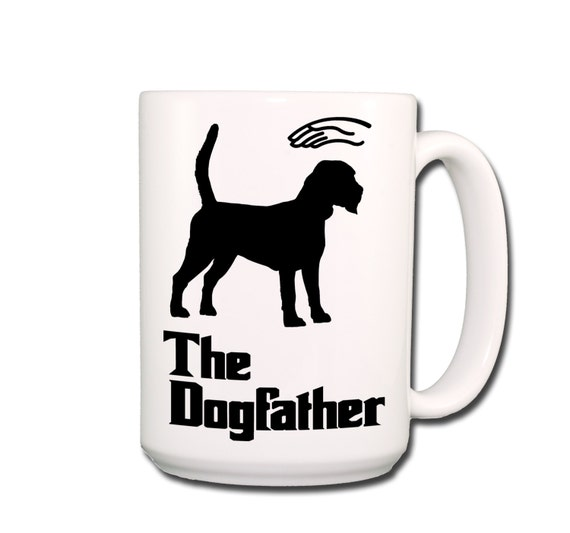 Beagle Dogfather Large 15 oz Coffee Mug