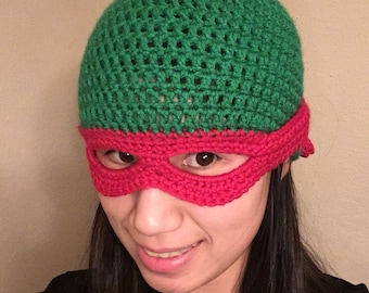 3b2c7c17003 Teenage mutant ninja turtle fold down mask beanie