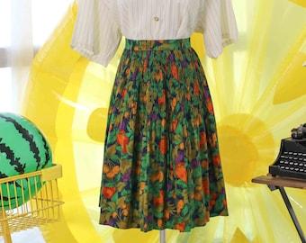 Vintage Midi Skirt VS994