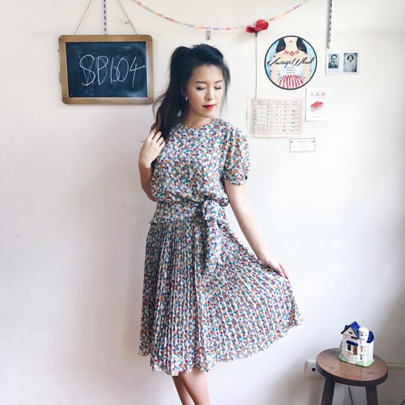 cc01840f32ee5 Vintage Midi Dress SP104