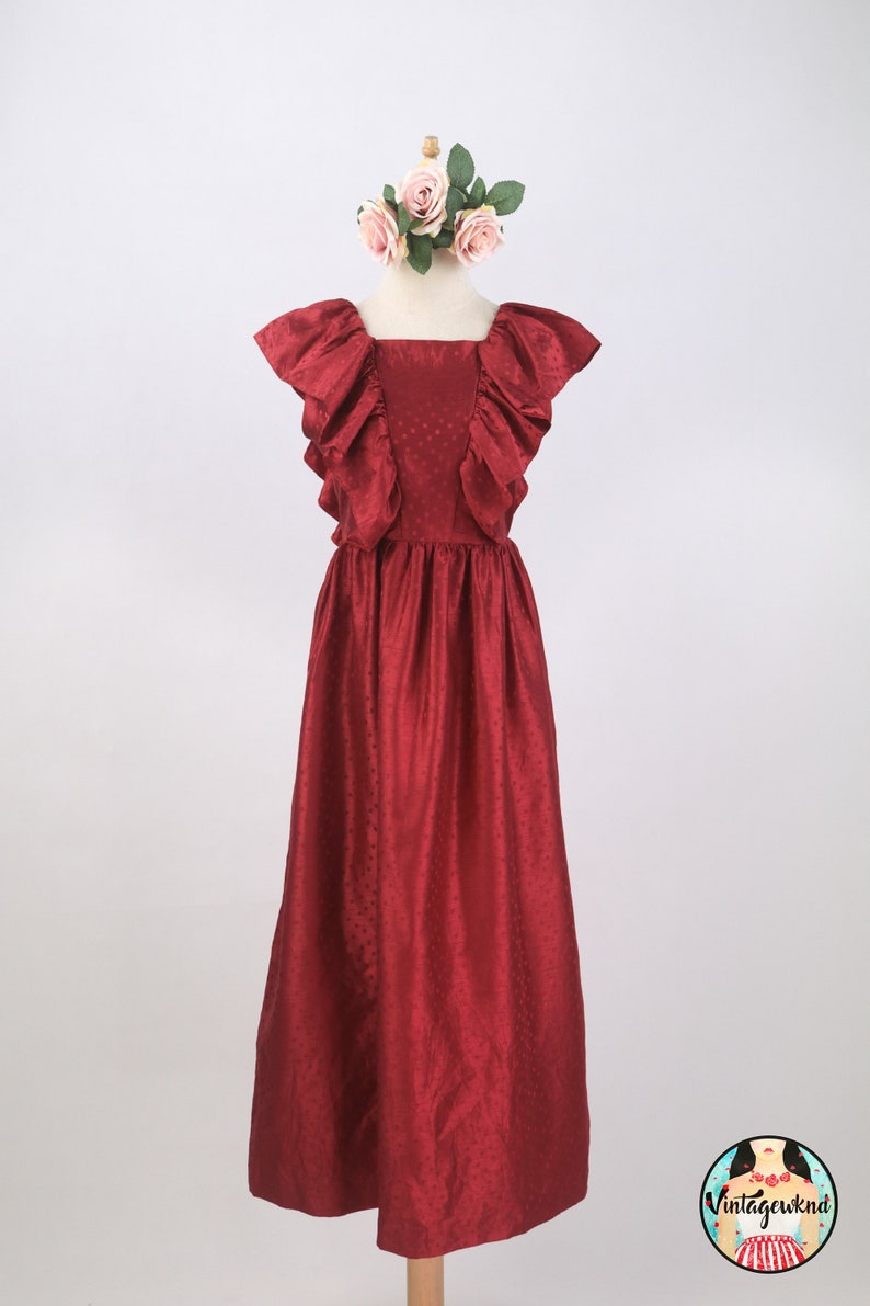 Premium Vintage Midi Dress SP256