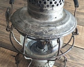 Vintage Handlan St. Louis USA Railroad Lantern Excellent Condition Matching Globe Glass Collectible RXR