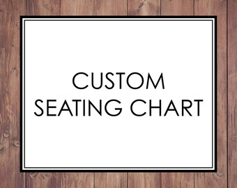 Custom Seating Chart