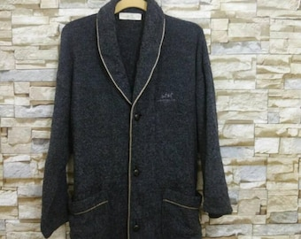 MEGA SALE Vintage Pierre Balmain Wool Paris Jacket Coat Medium