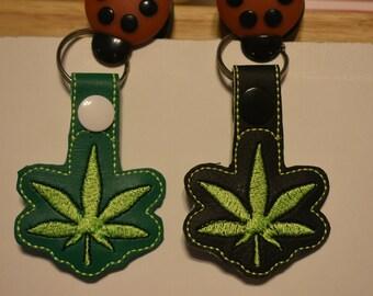 Leaf Keychains