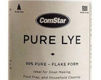 Sodium Hydroxide Pure Lye Flakes (Caustic Soda, Lye)