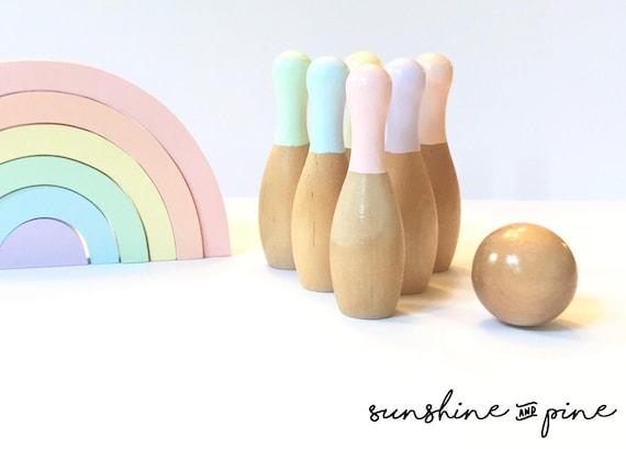 Bowling Spielzeug für Kinder Große Regenbogenanzug Indoor
