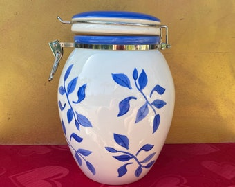 Ceramic Cookie Jar Etsy