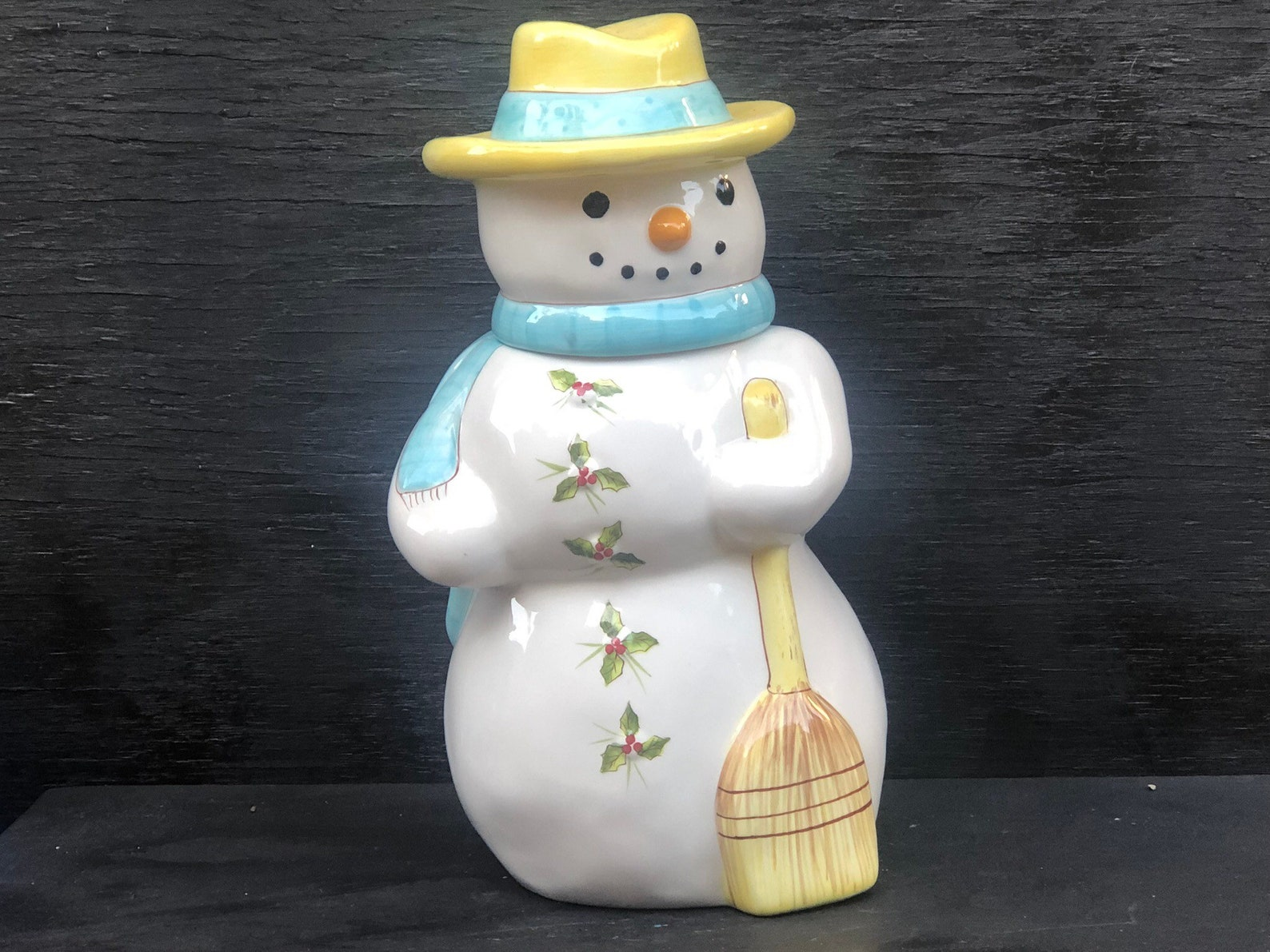 Snowman Cookie Jars Page Four